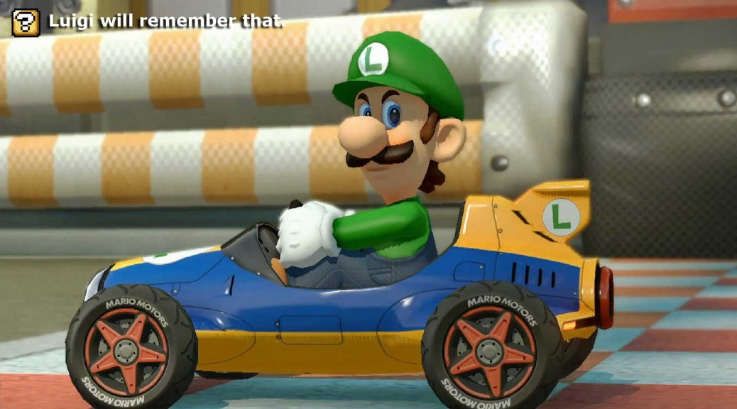 Luigi will remember that.