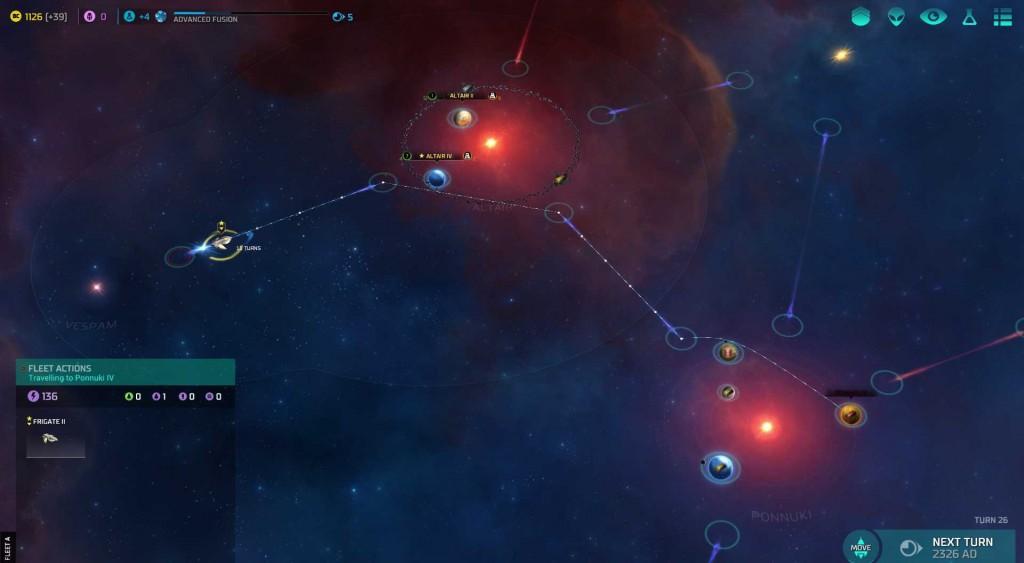 Master of Orion - Warp Lanes